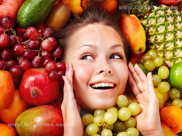 مواد غذایی موثر در داشتن پوست زیبا