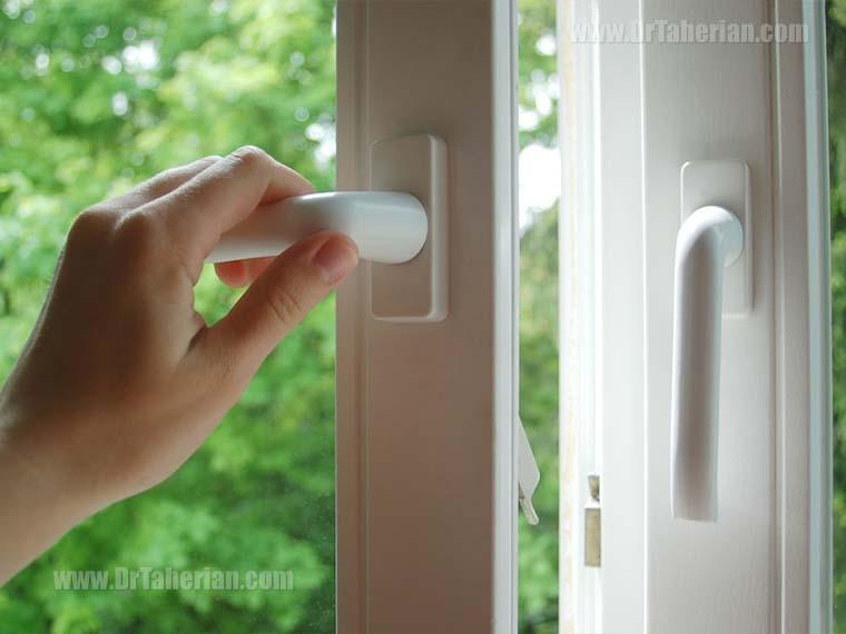 بستن پنجره