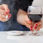 تاثیر الکل و سیگار بر نتیجه جراحی بینی چیست؟