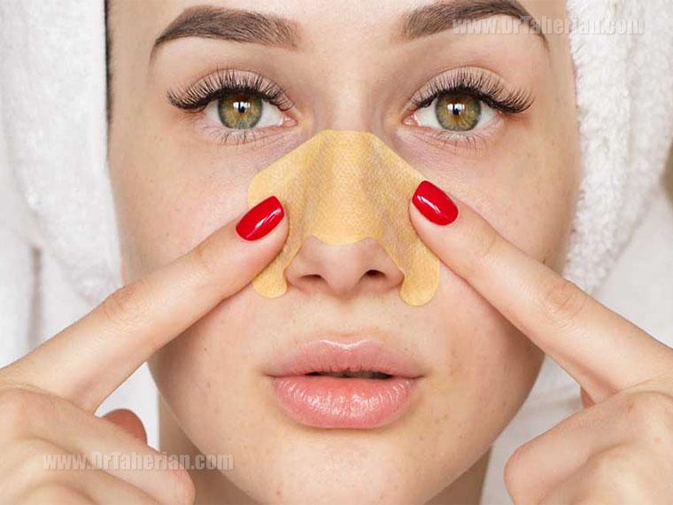 تغییرات چهره بعد از عمل بینی